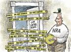 Cartoonist Nick Anderson  Nick Anderson's Editorial Cartoons 2012-07-31 gun violence