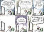Cartoonist Nick Anderson  Nick Anderson's Editorial Cartoons 2012-08-24 taxation