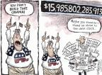 Cartoonist Nick Anderson  Nick Anderson's Editorial Cartoons 2012-08-30 spending cut