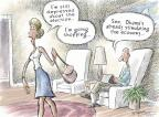 Cartoonist Nick Anderson  Nick Anderson's Editorial Cartoons 2012-11-13 2012 election economy