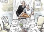 Cartoonist Nick Anderson  Nick Anderson's Editorial Cartoons 2012-11-22 holiday shopping