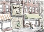 Cartoonist Nick Anderson  Nick Anderson's Editorial Cartoons 2012-11-28 debt