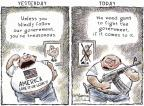 Cartoonist Nick Anderson  Nick Anderson's Editorial Cartoons 2013-01-27 Bush administration