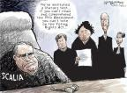 Cartoonist Nick Anderson  Nick Anderson's Editorial Cartoons 2013-03-03 supreme court judge