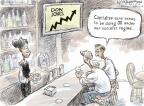 Cartoonist Nick Anderson  Nick Anderson's Editorial Cartoons 2013-03-06 Financial Market