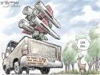 Cartoonist Nick Anderson  Nick Anderson's Editorial Cartoons 2013-03-24 gun violence