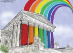 Cartoonist Nick Anderson  Nick Anderson's Editorial Cartoons 2013-06-27 supreme court judge