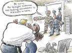 Cartoonist Nick Anderson  Nick Anderson's Editorial Cartoons 2013-08-22 military sexual assault