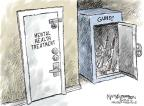 Cartoonist Nick Anderson  Nick Anderson's Editorial Cartoons 2013-09-18 gun violence