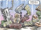 Cartoonist Nick Anderson  Nick Anderson's Editorial Cartoons 2013-10-13 government shutdown