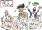 Cartoonist Nick Anderson  Nick Anderson's Editorial Cartoons 2013-12-17 Christmas