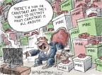 Cartoonist Nick Anderson  Nick Anderson's Editorial Cartoons 2013-12-20 Christmas