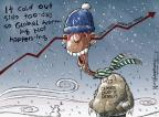 Cartoonist Nick Anderson  Nick Anderson's Editorial Cartoons 2014-01-07 snow day