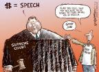 Cartoonist Nick Anderson  Nick Anderson's Editorial Cartoons 2014-04-03 supreme court judge