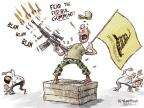 Cartoonist Nick Anderson  Nick Anderson's Editorial Cartoons 2014-06-10 gun violence