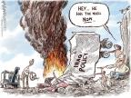Cartoonist Nick Anderson  Nick Anderson's Editorial Cartoons 2014-06-19 Bush administration