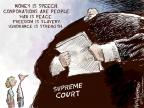 Cartoonist Nick Anderson  Nick Anderson's Editorial Cartoons 2014-07-03 supreme court judge