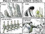 Cartoonist Nick Anderson  Nick Anderson's Editorial Cartoons 2014-08-15 Korea