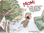 Cartoonist Nick Anderson  Nick Anderson's Editorial Cartoons 2014-12-21 Korea