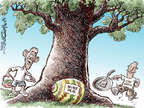 Cartoonist Nick Anderson  Nick Anderson's Editorial Cartoons 2015-04-05 Easter egg