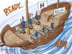 Cartoonist Nick Anderson  Nick Anderson's Editorial Cartoons 2016-05-18 Bernie