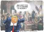 Cartoonist Nick Anderson  Nick Anderson's Editorial Cartoons 2019-11-01 Donald Trump