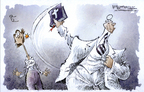 Cartoonist Nick Anderson  Nick Anderson's Editorial Cartoons 2005-01-01 religion
