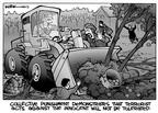 Cartoonist Kirk Anderson  Kirk Anderson's Editorial Cartoons 2003-10-05 attack