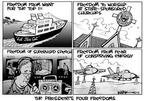 Cartoonist Kirk Anderson  Kirk Anderson's Editorial Cartoons 2003-01-29 petroleum