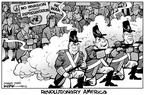 Cartoonist Kirk Anderson  Kirk Anderson's Editorial Cartoons 2003-03-22 secretary