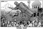 Cartoonist Kirk Anderson  Kirk Anderson's Editorial Cartoons 2003-04-04 Saddam Hussein