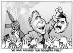 Cartoonist Kirk Anderson  Kirk Anderson's Editorial Cartoons 2003-04-24 Saddam Hussein