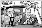 Cartoonist Kirk Anderson  Kirk Anderson's Editorial Cartoons 2003-07-11 secretary