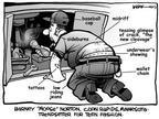 Cartoonist Kirk Anderson  Kirk Anderson's Editorial Cartoons 2003-09-01 baseball