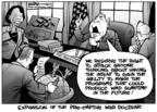 Cartoonist Kirk Anderson  Kirk Anderson's Editorial Cartoons 2004-02-13 secretary