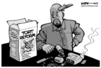 Cartoonist Kirk Anderson  Kirk Anderson's Editorial Cartoons 2004-10-28 protection