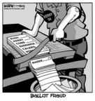 Cartoonist Kirk Anderson  Kirk Anderson's Editorial Cartoons 2004-10-29 right