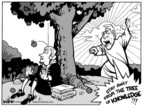 Cartoonist Kirk Anderson  Kirk Anderson's Editorial Cartoons 2005-02-08 nature