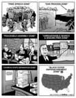 Cartoonist Kirk Anderson  Kirk Anderson's Editorial Cartoons 2004-07-29 black