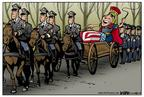 Cartoonist Kirk Anderson  Kirk Anderson's Editorial Cartoons 2004-05-27 George Bush