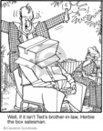 Cartoonist Jerry Van Amerongen  Ballard Street 2007-10-25 family