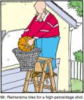 Cartoonist Jerry Van Amerongen  Ballard Street 2012-03-27 basketball hoop