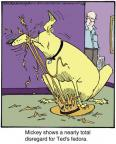 Cartoonist Jerry Van Amerongen  Ballard Street 2013-07-23 bad dog