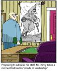 Cartoonist Jerry Van Amerongen  Ballard Street 2014-05-26 inspiration