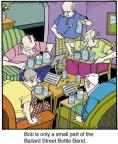 Cartoonist Jerry Van Amerongen  Ballard Street 2014-07-04 musical