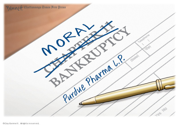 Moral Chapter 11 Bankruptcy. Purdue Pharma L.P.