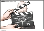 Cartoonist Clay Bennett  Clay Bennett's Editorial Cartoons 2008-01-05 scene