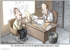 Cartoonist Clay Bennett  Clay Bennett's Editorial Cartoons 2008-04-08 tax deadline