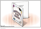 Cartoonist Clay Bennett  Clay Bennett's Editorial Cartoons 2008-05-08 graduation