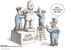 Cartoonist Clay Bennett  Clay Bennett's Editorial Cartoons 2008-05-20 John McCain